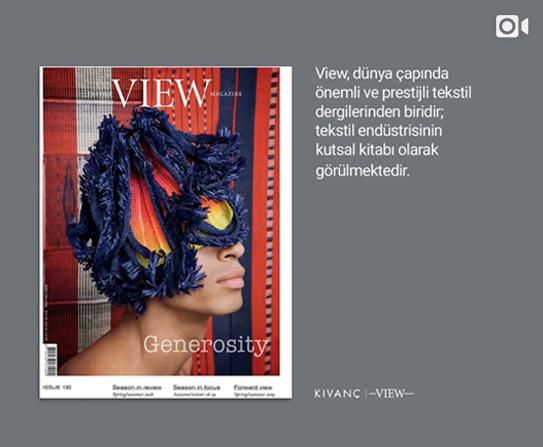 View Dergisi ile Kıvanç'ın dünyasını keşfedin