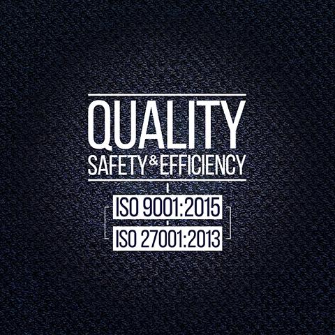 ISO 9001: 2015 - ISO 27001: 2013