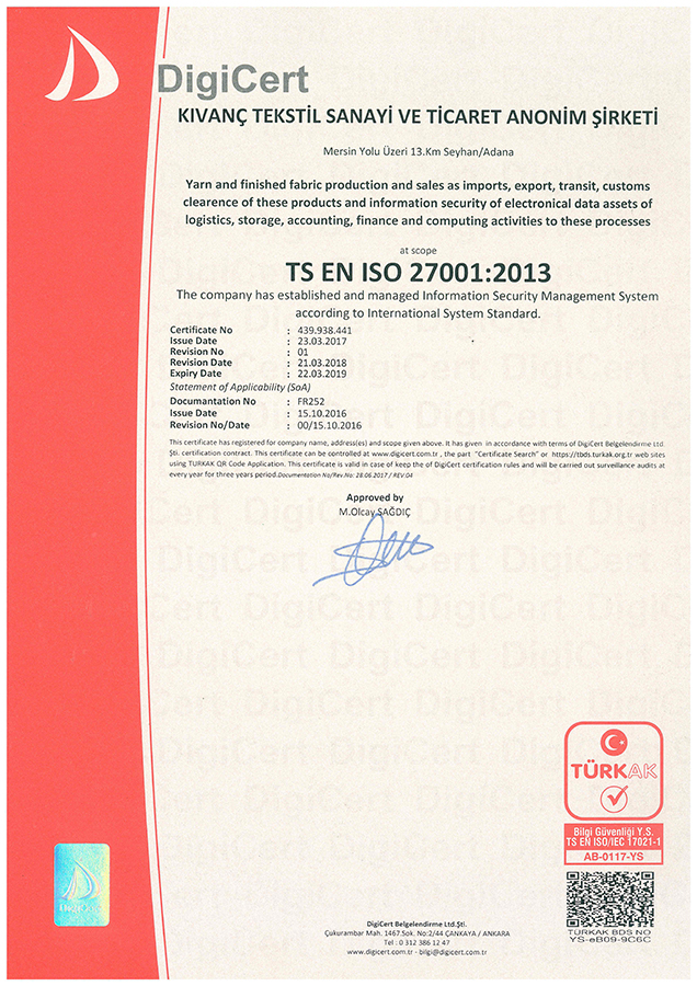 OEKO-TEX Standard 100 –2009'ten bugüne